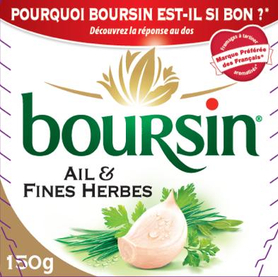 Packaging Boursin
