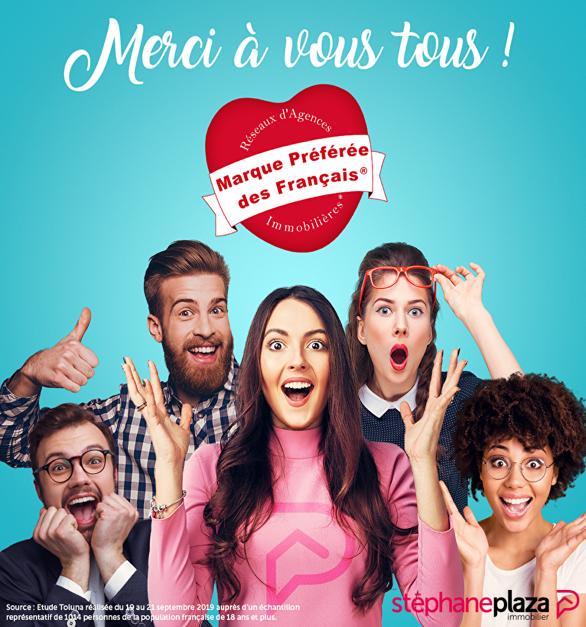 Affichage : Stéphane Plaza Immobilier