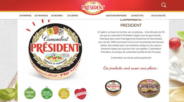 Site Internet : Président