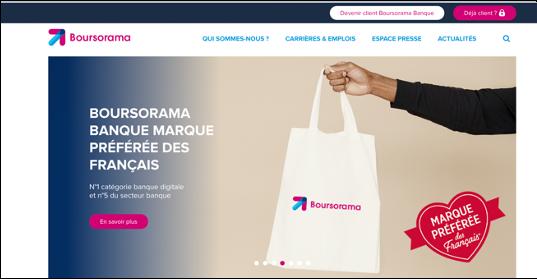 SITE INTERNET : BOURSORAMA